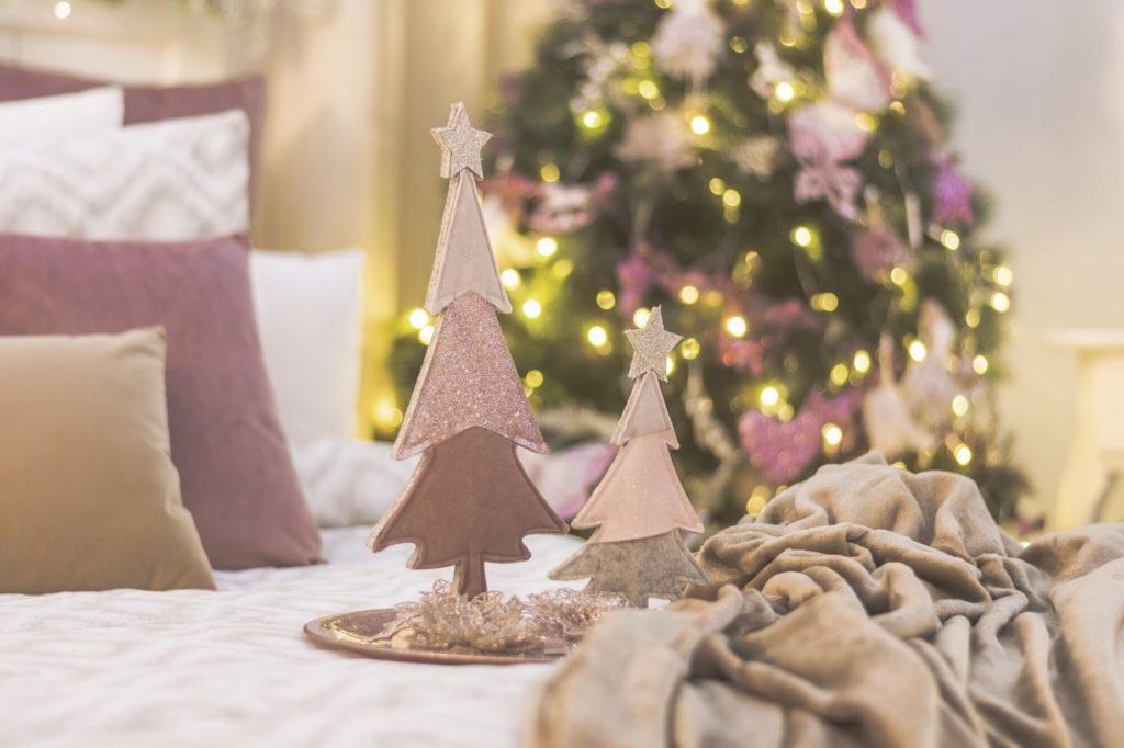 Decoración para Navidad de estilo girly